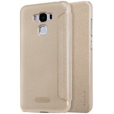 Iklan Nillkin Sparkle Leather Flip Case For Asus Zenfone 3 Max 5 5 Zc553Kl Emas