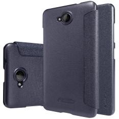 NILLKIN Sparkle PU Leather Flip Cover Case untuk Microsoft Lumia 650 (Hitam)-Intl-Intl