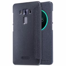 Nillkin Sparkle Series New Leather case for Asus Zenfone 3 Deluxe (ZS570KL) - Hitam