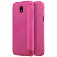 Nillkin Sparkle Series New Leather case for Samsung Galaxy J5 2017 / J5 PRO / J530 - Merah
