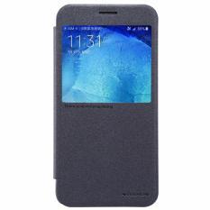 Nillkin Sparkle Series New Leather case for Samsung Galaxy J5108/Galaxy J5 (2016) 5.2inch - Hitam