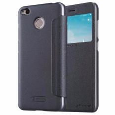 Harga Nillkin Sparkle Series New Leather Case For Xiaomi Redmi 4X Hitam Fullset Murah