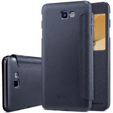 Nillkin Sparkle View Leather Case Samsung Galaxy J7 Prime Casing Cover Flip Hitam Diskon Dki Jakarta