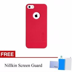 Nillkin Super Frosted case Apple iPhone 5 / 5S / 5SE iPhone SE - Merah + free screen protector