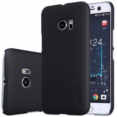 Nillkin Super Frosted Case For Htc 10 (10 Lifestyle) - Hitam + Free Screen Protector(Multicolor)