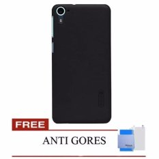 Nillkin Super  Frosted Case Htc Desire 826 (D826 826T 826W) - Hitam + Free Screen Protector(Black)