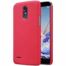 Nillkin Super Frosted Shield for LG Stylus 3 (M400DK) - Merah + free screen protector