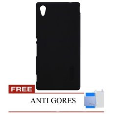 Toko Nillkin Super Frosted Shield For Sony Xperia M4 Aqua Hitam Gratis Anti Gores Murah Indonesia