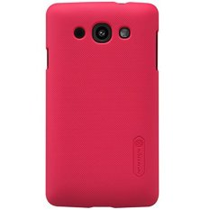Nillkin Super Frosted Shield Hard Case LG L60 X145 – Merah