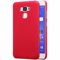 Nillkin Super Frosted Shield Matte cover case for Asus Zenfone 3 Max (ZC553KL) - Merah + free screen protector