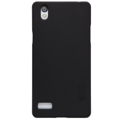 NILLKIN Super Frosted Shield Matte PC Hard Back Case Cover untuk OPPO Mirror 5/5 S/A51 (warna: Hitam)-Intl