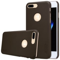 Nillkin Super Frosted Shield Matte Plastic Case Cover Shell (with Screen Protector Film) for Apple iPhone 7 Plus(Brown)