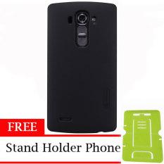 Nillkin ORIGINAL Super Frosted Shield LG G4 - Black/Hitam  Hardcase Backcase Backcover Case HP Casi