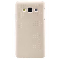Nillkin ORIGINAL Super Frosted Shield Samsung Galaxy A3 - Gold/Emas Hardcase Backcase Backcover Case HP Casing Handphone