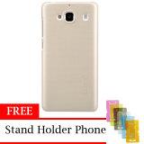Jual Nillkin Super Shield Hardcase 1Mm Original For Xiaomi Redmi 2 Free Stand Holder Phone Gold