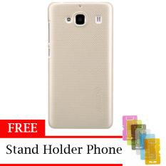 Nillkin Super Shield Hardcase 1Mm Original For Xiaomi Redmi 2 Free Stand Holder Phone Gold Murah