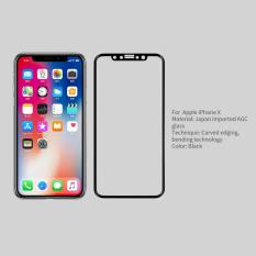Beli Nillkin Tempered Glass 3D Cp Max V1 For Iphone X Black Nillkin