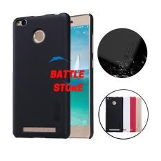 Nillkin Xiaomi Redmi 3s Pro Case Frosted Shield Hard Back Cover for Xiaomi Redmi 3s Pro - Hitam
