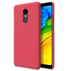 NILLKIN Xiaomi Redmi 5 Cembung Cekung Tekstur PC Pelindung Penutup Belakang Case (Merah)-Intl