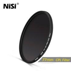 Jual Nisi 77Mm Cpl Filter Dus Slim Professional Ultra Thin C Pl Filters Polarizer Filter Intl Nisi Ori