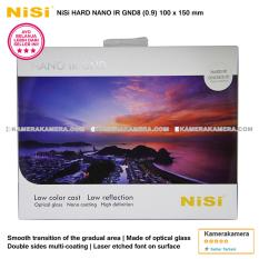 NiSi Square Filter Hard Nano IR GND8 (0.9) 100x150mm Original for DSLR / Mirrorless Camera Canon Nikon Sony Fujifilm Panasonic