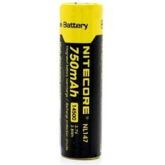 Jual Beli Nitecore 14500 Rechargeable Li Ion Battery 750Mah 3 7V