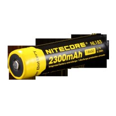 Perbandingan Harga Nitecore 18650 Rechargeable Li Ion Battery 2300Mah 3 7V Nl183 Black Yellow Nitecore Di Indonesia