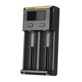 Jual Nitecore Intellicharger Universal Battery Charger 2 Slot For Li Ion And Nimh New I2 Hitam Branded Original