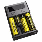 Toko Nitecore Intellicharger Universal Battery Charger 4 Slot For Li Ion And Nimh New I4 Alat Pengisi Daya Cas Casan Charger Charging Empat Baterai Batre Batere Terlengkap