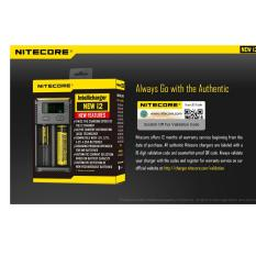 Nitecore new i2 SmartIntellicharger NEW I2 Charger baterai / battery