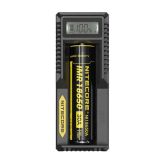 Harga Nitecore Universal Battery Charger 1 Slot For Li Ion With High Definition Lcd Um10 Hitam Murah