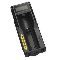 Beli Nitecore Universal Battery Li Ion Charger Lcd 1 Slot Um10 Hitam Nitecore