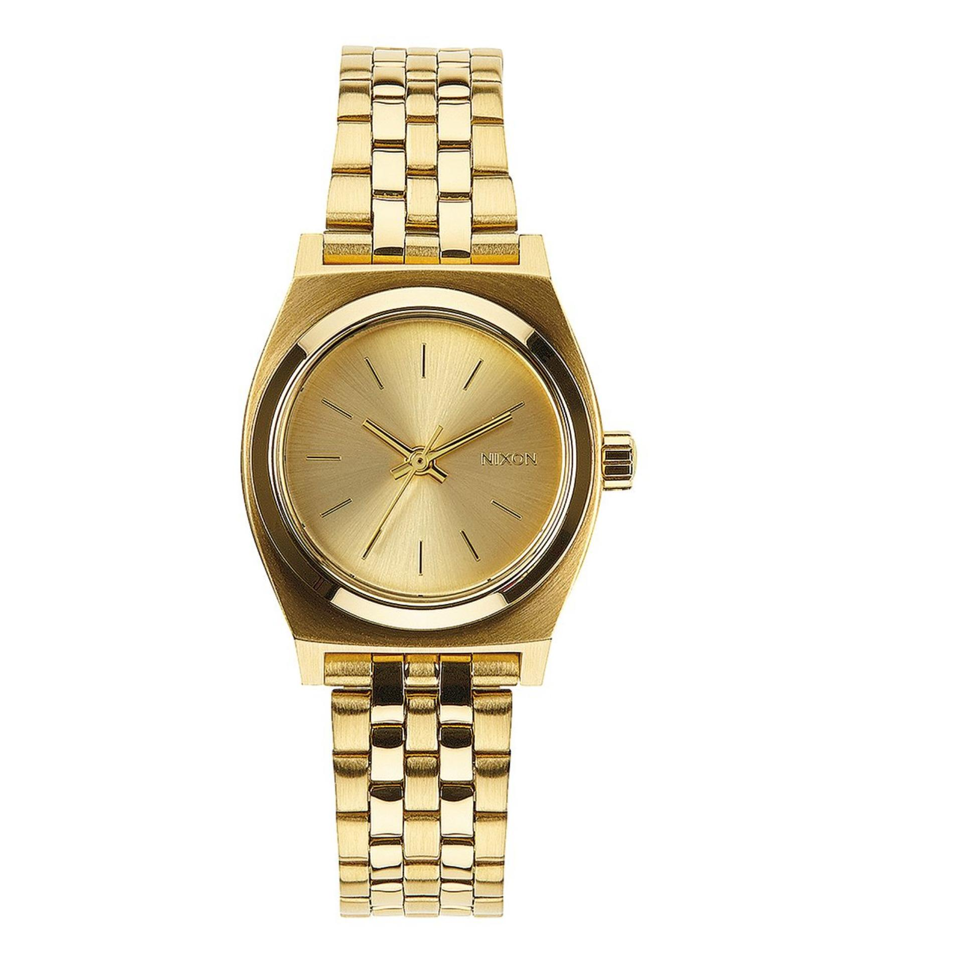 Indonesia. NIXON A399502 Small Time Teller - Jam Tangan Wanita - Stainless  - Gold b30da5a892