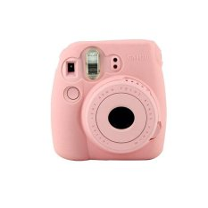 Noctilucent Camera Case Skin Cover For FUJIFILM Instax Mini8 Mini8s Pink - intl