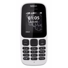 Nokia 105 2017 4Mb White Asli