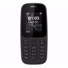 Nokia 105 Dual SIM 2017 - Garansi Resmi - Hitam