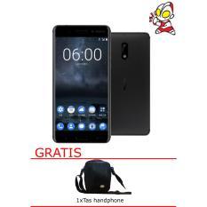 Nokia 3 Black 16GB Black Free Tas Handphone Garansi Resmi Nokia Indonesia