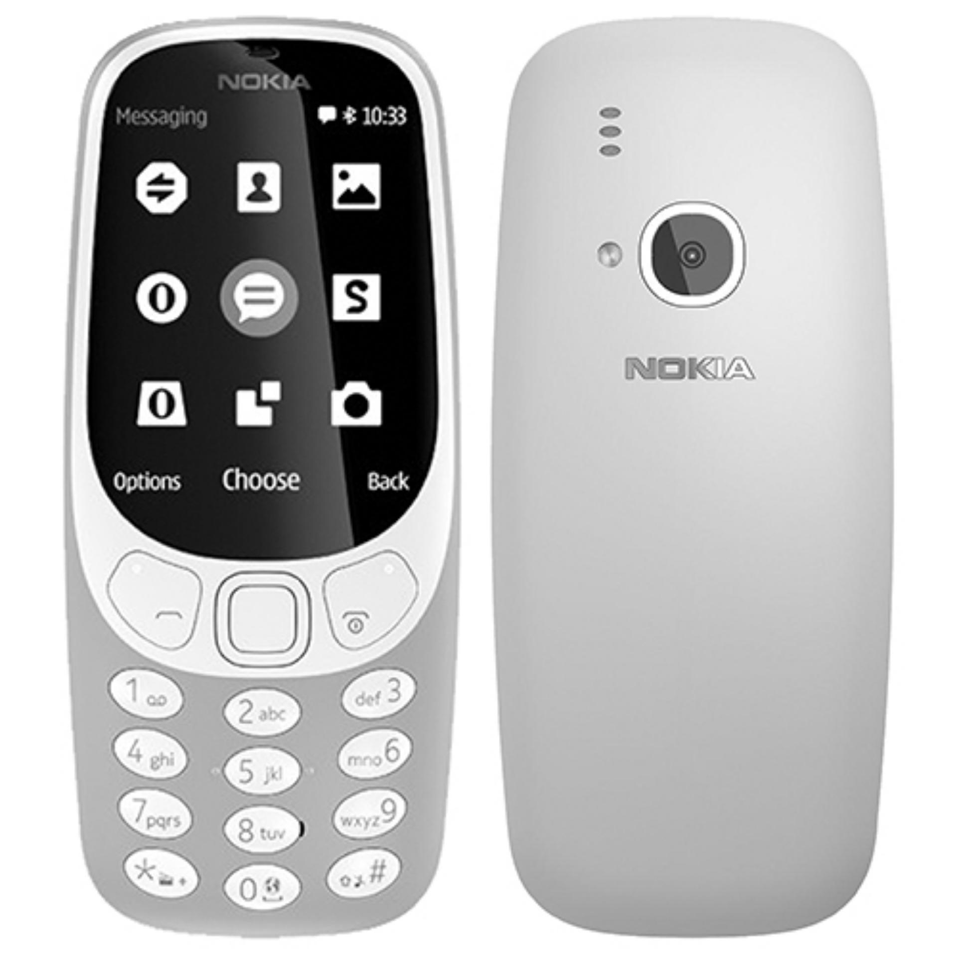 Situs Review Nokia 3310 2017 16Mb 2Mp Led Flash Grey