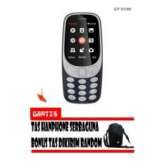 Nokia 3310 New Edition 2017 Dark Blue Garansi Resmi Indonesia  Free Tas Handphone