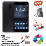 Ulasan Lengkap Nokia 6 3 32 Garansi Resmi 16Mp 8Mp Free 4 Item Accesories Black