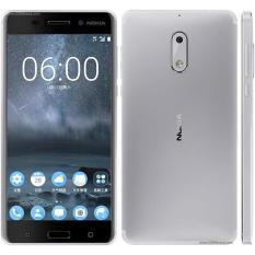 Nokia 6 4Gb 64Gb Silver Diskon Akhir Tahun