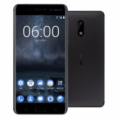 Nokia 6 Smartphone - Black [32GB/3GB] - Garansi Resmi TAM