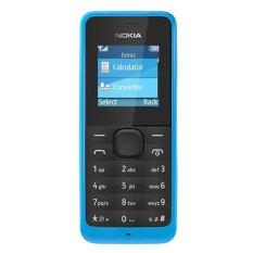 Diskon Nokia Asha 105 8 Mb Cyan Branded