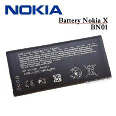 Perbandingan Harga Nokia Battery Bn 01 1500Mah Baterai Nokia X Original Di Dki Jakarta