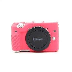 Beli Non Slip Soft Silicone Gel Rubber Camera Case Cover For Canon Eos M3 Rose Intl Kredit Tiongkok