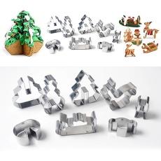 Price Checker Yooc Natal Stainless Steel Pemotong Kue Biskuit Gula