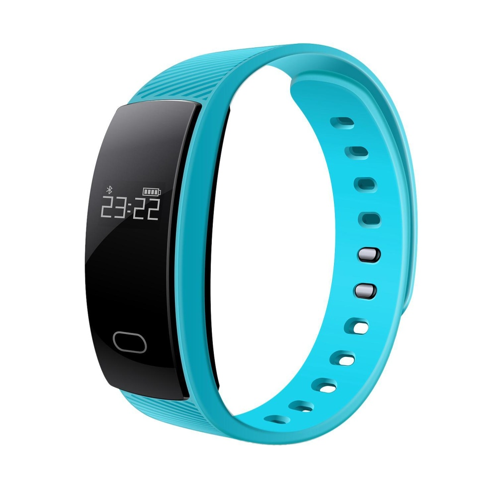 nonvoful New QS80 Smart Bracelet Heart Rate Blood Pressure Fitness Tracker Smart Electronics 0.42 Inch TFT OLED Wristband For BT Phones - intl