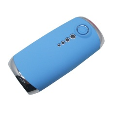 Noosy Mobile Power Bank 4000mAh with Tomsis Bluetooth Remote Shutter for Android and iOS - BR06 - Biru