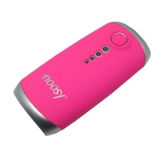 Noosy Mobile Power Bank 4000mAh with Tomsis Bluetooth Remote Shutter for Android and iOS - BR06 - Pink