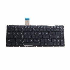 Penggantian Notebook Keyboard Standar AS untuk ASUS X401 X401A X401U 13GN4O1AP030-1 Laptop Keyboard VCT39 T15 0.45-Intl